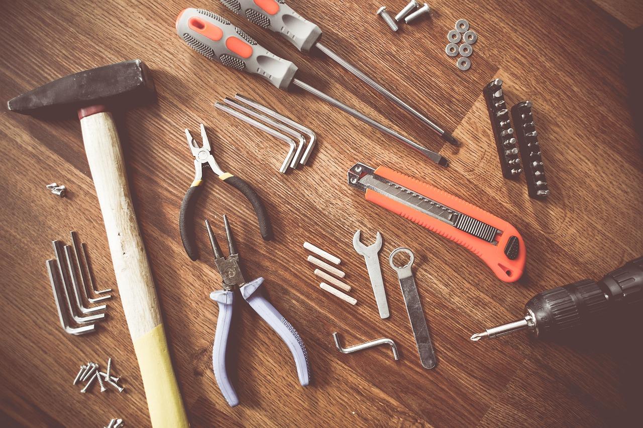 Narzędzia niezbędne w domu